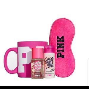 Vs Pink coffee mug gift set limited edition